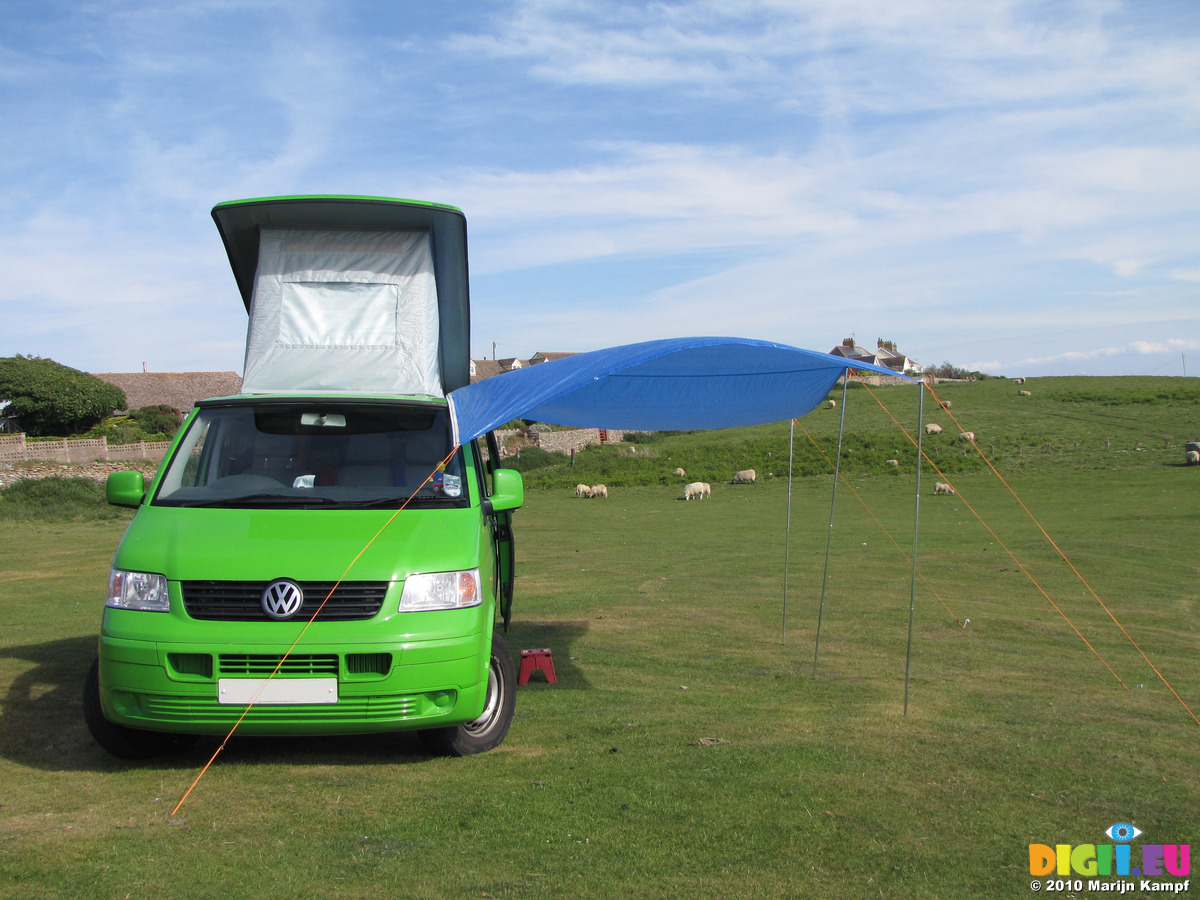 VW T5 Campervan DIY Awning SX14711 On Van
