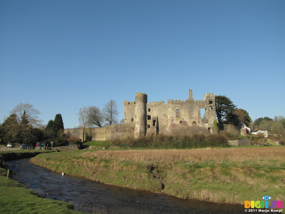 Laugharne United Kingdom  city photos gallery : Laugharne castle and river Coran | 20110304 Porthgain and Laugharne ...