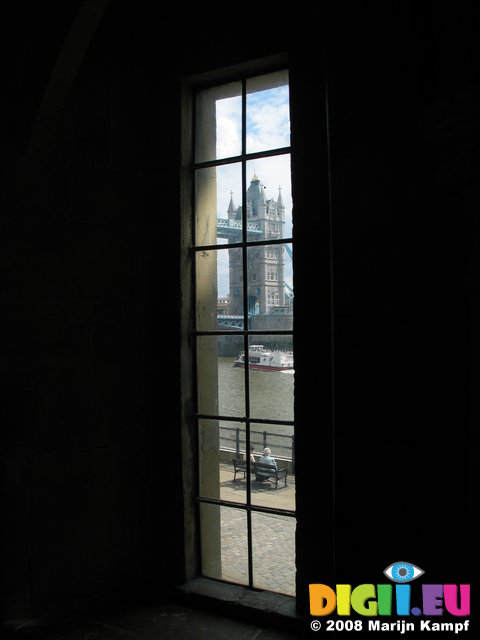 3157 London Bridge From The Tower Window