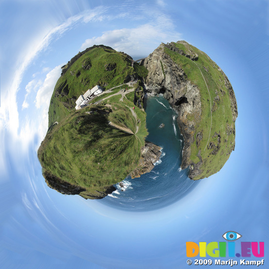 SX07111-07119 Polar Planet Tintagel Castle Island