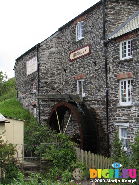 SX07334 Watermill in Boscastle