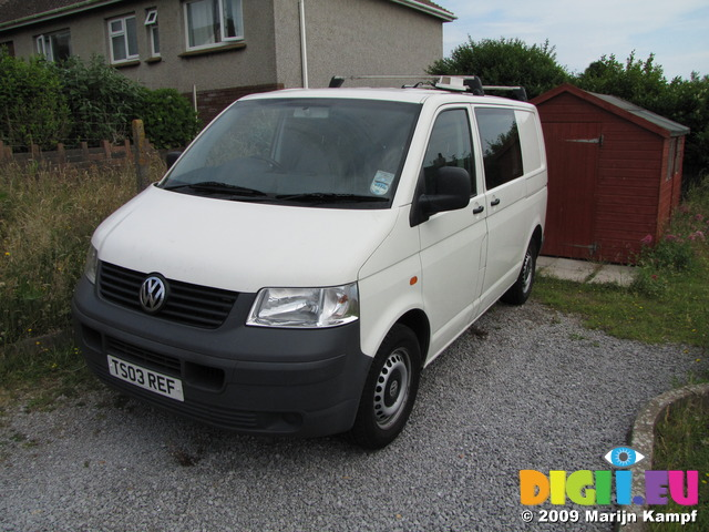 SX07613 Our new second hand VW T5