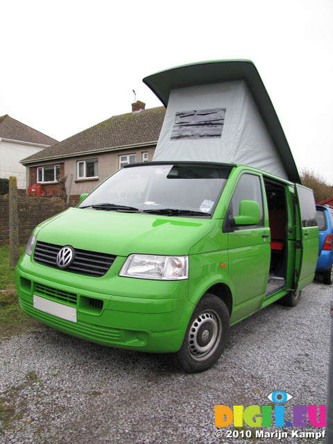 SX12332 VW campervan with popup popped