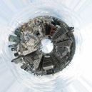 3302-3314 London from the Monument planet donut.jpg