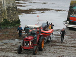 27572 Boot Tractor and divers at Slade harbour.jpg