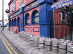 SX00120 Kegs outside Alfie Hale Lounge Bar Tramore.jpg