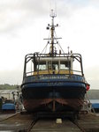 SX00462 Fishing boat Driegebroeders Belfast in dry dock.jpg