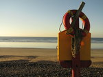 SX00599 Lifesafer and ropes on quiet beach.jpg