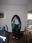 SX02842 Jenni pretending to be a sleeping bag slug.jpg