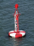 SX03127 Red and white buoy in Milford Haven.jpg