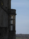 SX03160 Sunshining in windows Carew castle.jpg