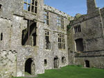 SX03230 Carew castle Long Gallery from courtyard.jpg