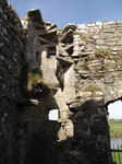 SX03242 Remains of spiral staircase in Carew castle.jpg