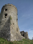 SX03263 South West and South East tower Carew castle.jpg