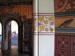 SX03385 Painting on wall of Library in Cardiff castle.jpg