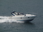 SX03428 Fast motorboat in Milford Haven.jpg