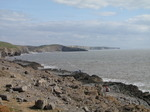 SX03548 Seafishing from rocks by Ogmore by sea.jpg
