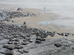 SX05268 People and dancing stones in Dunraven bay, Southerndown.jpg