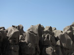 SX05826 Odd shaped rocks reminiscent of chimneys on La Pedrera by Gaudi.jpg