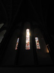 SX06010 Sun shining through stained glass window in Brecon Cathedral.jpg
