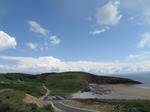 SX06780 Slade Castle and Dunraven bay, Southerndown.jpg