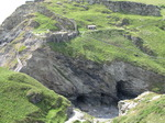 SX06935 Caves underneath castle on Tintagel Head.jpg