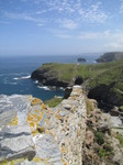 SX07239 View over wall towars Barras Nose and cliffs beyond.jpg