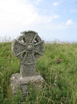 SX07315 Celtic cross in Tintagel Church graveyard.jpg