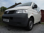 20090630 VW Transporter van