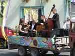 SX07902 Jazz band in trailer at Brecon Jazz Parade.jpg