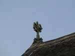 SX07912 Stone cross on top of Brecon Cathedral.jpg