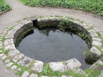 SX08062 Circular water feature in Dunraven Park.jpg