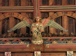 SX08115 Angel hanging from ceiling in Cardiff Castle great hall.jpg