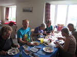 SX08219 Tom, Marijn, Oma, Marjan, Hans and Machteld eating chinese in Ogmore by Sea.jpg
