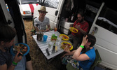 SX08353-08358 Jenn, Dan, Brad and Laura having lunch.jpg