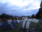 SX08476 Tents in the evening at Beautiful Days festival.jpg