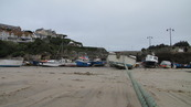 SX08691 Small boats on sand in Newquay harbour.jpg