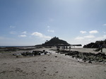SX08940 People walking to St Michael's Mount over causeway.jpg