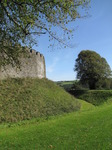 SX09378 Moat at Restormel Castle.jpg
