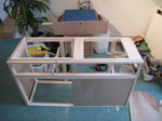 SX09714 Frame of campervan kitchen unit.jpg