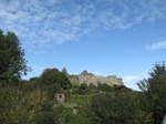 SX09709 Oystermouth Castle and allotments.jpg