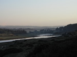 SX09757 Ogmore Castle and Ogmore river in the morning.jpg