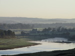 SX09782 Ogmore Castle and river in the morning.jpg