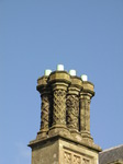 SX09850 Decorated chimneys on Margam Castle.jpg
