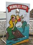 SX09918 Mermaid Jenni on Mumbles pier.jpg