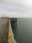 SX09930 Partially collapsed boards on Mumbles pier.jpg