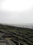 SX09935 Partially collapsed boards on Mumbles pier.jpg