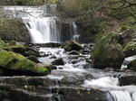 SX10579 Waterfall in Caerfanell river, Brecon Beacons National Park.jpg