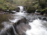 SX10583 Waterfall in Caerfanell river, Brecon Beacons National Park.jpg