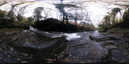 SX10607-10663 II Panorama waterfall in Caerfanell river, Brecon Beacons National Park.jpg